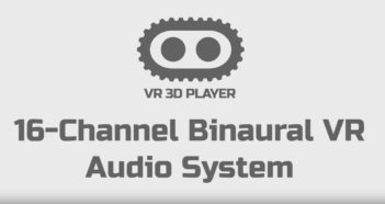 Cinegears 16 Channel Binaural AVR Audio System