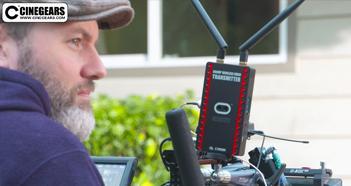 Cinegears Wireless Video 600MP on Set