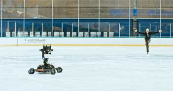 Cinegears Gimbal Car: On-Ice Performance Testing